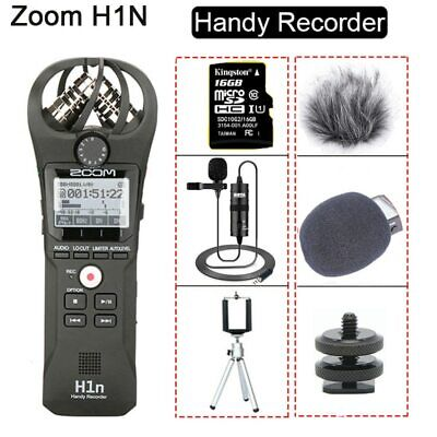 Original ZOOM H1N Handy Recorder Audio Video Interview Stereo Microphone • 124.38£