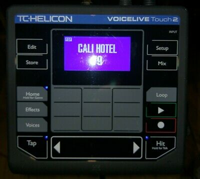 TC-Helicon VoiceLive Touch 2 Vocal Effects & Looper + Sennheiser E835fx Mic • 300£