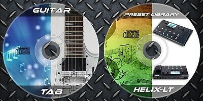 7.000 Patches Line6 HELIX-LT (FLOOR)  & 48.328 Guitar Tablatures • 9.99£