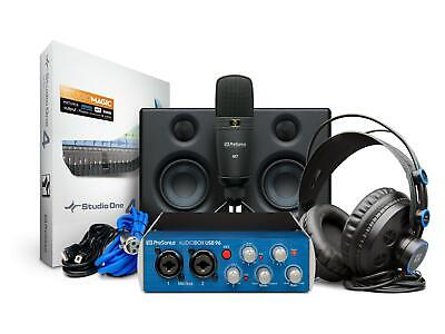 PreSonus AudioBox Studio Ultimate Bundle Deluxe Hardware/Software Recording • 224.28£