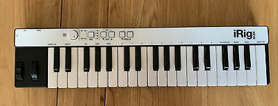 IRig Keys Pro  37 Key Midi Controller / With DIN / IOS Cable • 25£