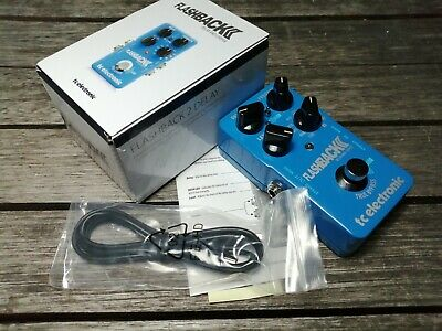 TC Electronic Flashback 2 Delay And Looper - FREE NEXT DAY DELIVERY IN THE UK • 115£