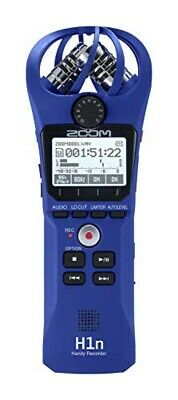 ZOOM Handy Recorder Handy Recorder [Limited Color] (H1n / L (Blue)) From Japan • 108.70£