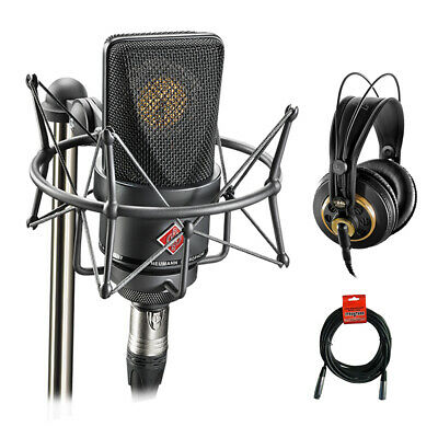 Neumann TLM 103 Condenser Microphone Mono Set (Black) With AKG K 240 Studio Pro • 929.17£