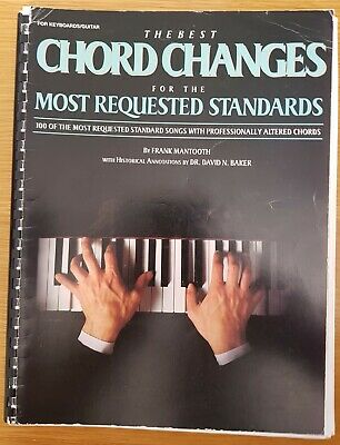 Best Chord Changes Requested Standards Jazz Guitar Keyboard Sheet Music Book