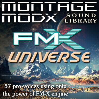FM-X Universe - Expansion Sound Library For Yamaha Montage & ModX (6/7/8) • 8.59£
