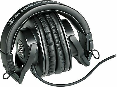 Audio-Technica ATH-M30X Wired Monitor Headphones - Black • 49.99£