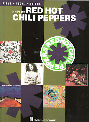 Best of Red Hot Chili Peppers Music Book for Piano Vocal Guitar by Hal Leonard