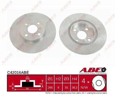 ABE C42016ABE Brake Disc OE REPLACEMENT XX28 C0DE4B • 35.61£
