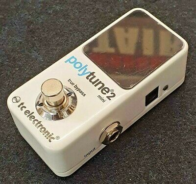TC Electronic Polytune 2 Mini Tuner Pedal - FOR SPARES OR REPAIR