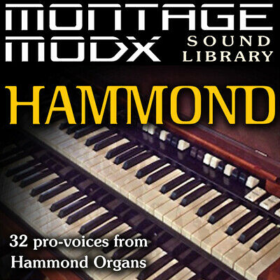HAMMOND Organ - Expansion Sound Library For Yamaha Montage & ModX (6/7/8) • 17.20£