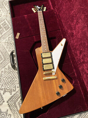 Gibson Custom Shop Mahogany Futura 3PU Explorer Antique Natural 2018, A1033 • 4,056.09£