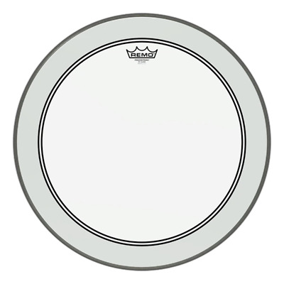 Remo Powerstroke P3 Bass Drum Heads - Clear