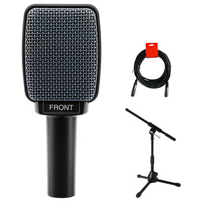 Sennheiser E906 Instrument Microphone Bundle With Amp Mic Stand And Cable • 143.33£