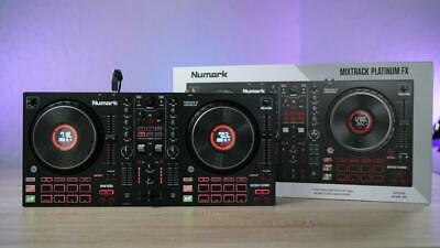 Numark Mixtrack Platinum FX – DJ Controller For Serato With Numark Headphones • 200£