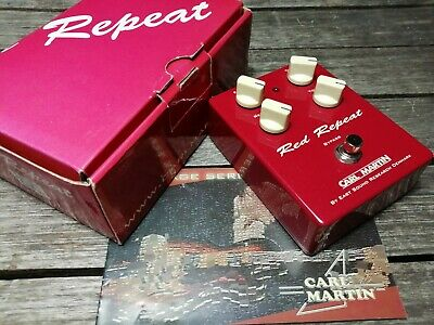 Carl Martin Red Repeat V2 Delay - FREE NEXT DAY DELIVERY IN THE UK