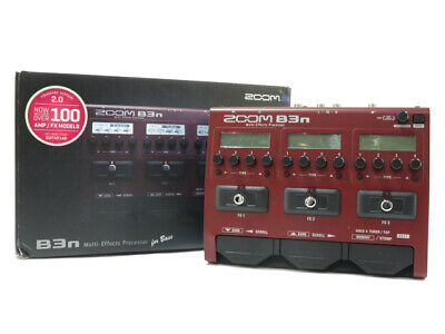 Zoom B3N Multi-Effects Processor For Bass • 173.19£