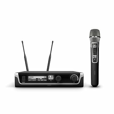 LD Systems U508 HHC - Wireless Microphone System With Hand Microphone Condenser