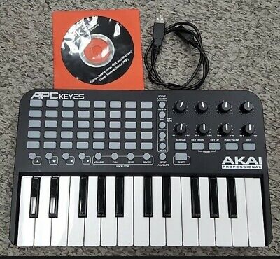 Akai Professional APC Key 25 Ableton Live Controller With Keyboard • 50£