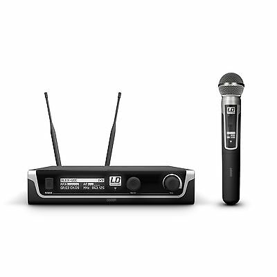 LD Systems U508 HHD Wireless Microphone System With Hand Microphone Dynamic