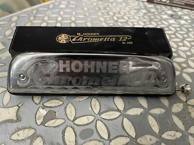 Hohner Chrometta 12 chromatic harmonica (now reduced and free postage)!
