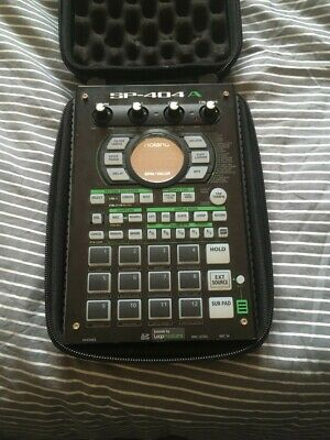 Roland SP404A Sampler With MAGMA CTRL CASE • 390£