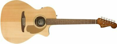 Fender California Series Newporter Player Electro Acoustic Guitar With Walnut...