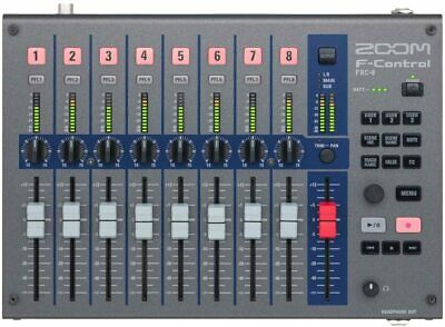 ZOOM FRC-8 F-Control Mixer Type Controller Multitrack Field Recorder F Series • 353.10£