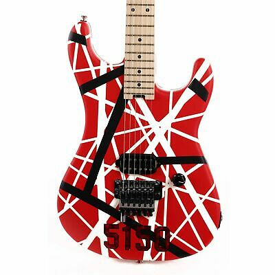 EVH Striped Series 5150 Striped Red Black And White Used • 898.33£