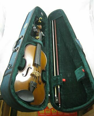 Full Size Stentor Student Violin, w/ Bow, Carrying Case Wolf Forte Secondo rest