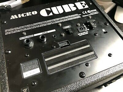 Roland Micro Cube Amp Amplifier Battery Cover Lid Box Case Replacement Part