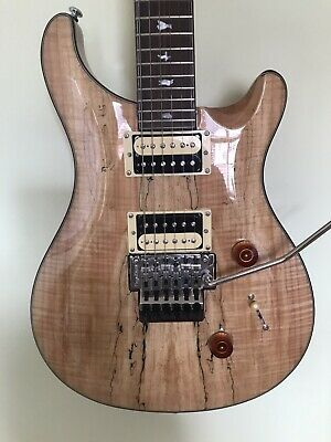 PRS SE custom 24 electric guitar with Floyd Rose in absolute mint condition.