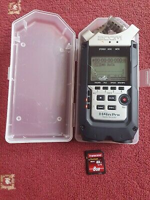 Zoom H4n PRO Handy Recorder - Portable 4 Track SD Card Recorder *CRACKED SCREEN*