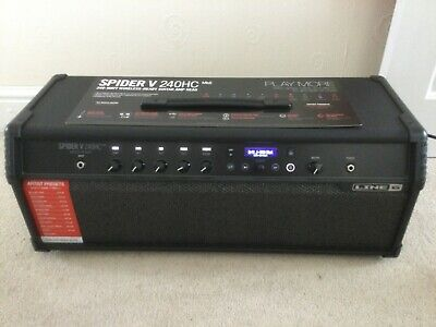 Line 6 Spider V240HC MkII (Mk2) 240w Head / 50w Combo with cover