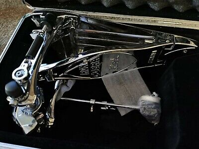 Tama Limited Edition Chrome Iron Cobra Bass Drum Pedal (pedal perfect condition