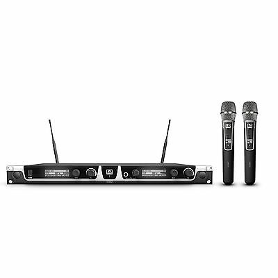 LD Systems U508 HHC2 - Wireless Microphone With 2 X Hand Condenser New