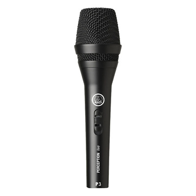 AKG P3 S Perception Live Dynamic Vocal Microphone • 31.98£
