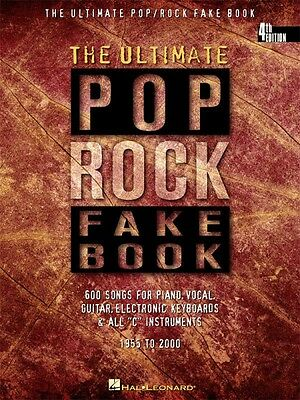 The Ultimate Pop Rock Fake Book 4th Edition Sheet Music C Edition 000240099 • 20.71£