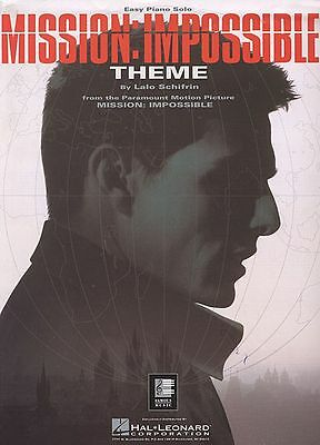 Mission: Impossible Theme Sheet Music Easy Piano Solo NEW  000349005 • 2.76£