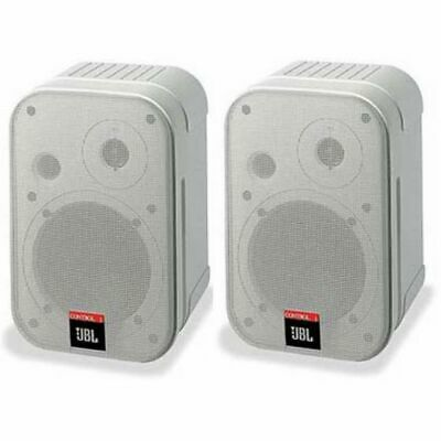 Pair JBL Control 1 Pro Two-Way Professional Compact Loudspeakers White • 149£