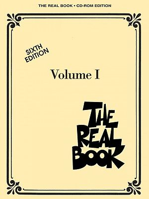 The Real Book On CDROM - Vol 1 - 6th Ed - C Ed - SHEET MUSIC 000451087 • 15.92£