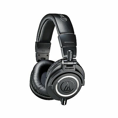 New Audio-technica Ath-m50x Professional Studio Monitor Headphones • 134.33£