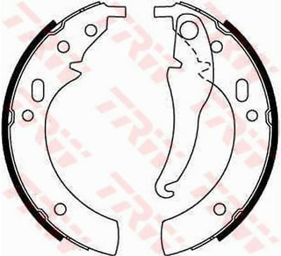 TRW GS8094 BRAKE SHOE SET Rear • 32.50£