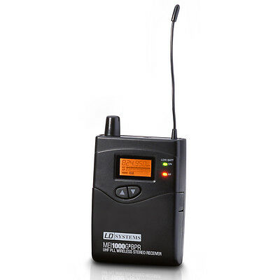 LD Systems MEI 1000 G2 BPR - Receiver For LDMEI1000G2 In-Ear Monitoring System • 149£