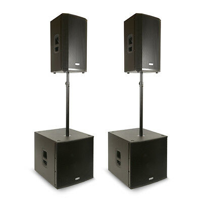 FBT Ventis VN4000 Active PA System (112A Top & Subline 118SA Sub) • 4,736£