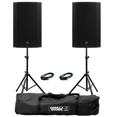 Mackie Thump 15A V4 Active 15  DJ Disco Musician PA Speakers Inc Stands & Cables • 545£