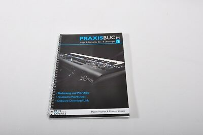 Practice Book For Yamaha Genos Keyboard+Reference Book+Schutzstickerset German • 64.90£