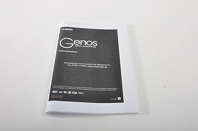 Accessories For Yamaha Genos : Upgrade And Reference Book + Sticker Set • 25.40£