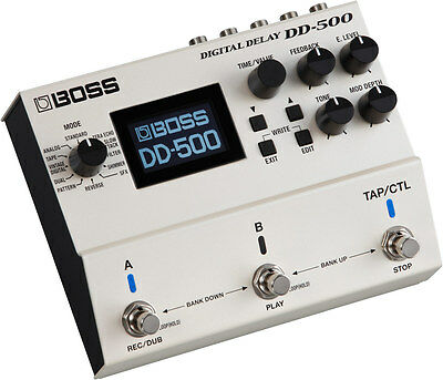 Boss DD-500 Digital Delay - Delay Pedal • 330£