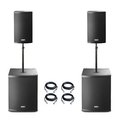 FBT X-2000 Active X-Lite 10A Speaker X-Sub 15SA Subwoofer PA System  • 1,869£